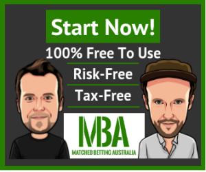 Start Matched Betting