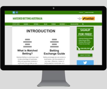 Matched betting guide australia sports betting hockey
